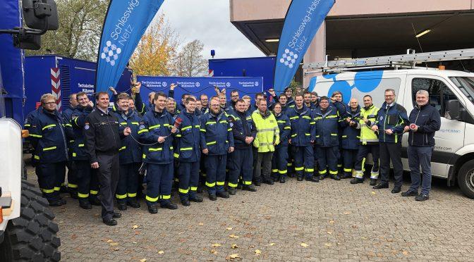 THW und SH-Netz AG – gemeinsam für eine sichere Stromversorgung
