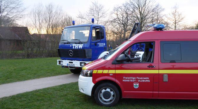 Einsatz Nr. 04/19: Ölschaden Gewässer in Henstedt-Ulzburg