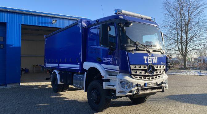 Neues Fahrzeug: Lastkraftwagen Ladebordwand (LKW Lbw) FGr E