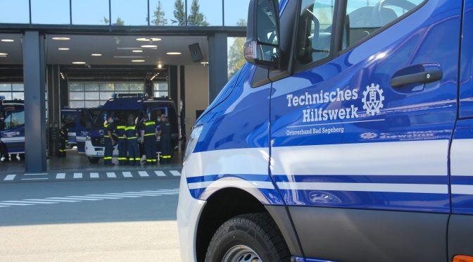 Neues Fahrzeug: Mannschaftstransportwagen (MTW) FGr Ortung