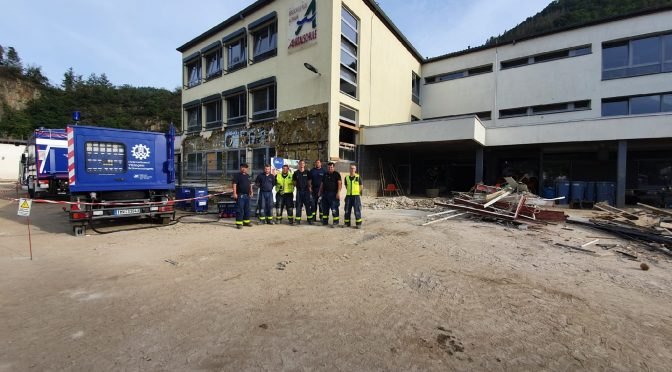 Einsatz Nr. 40/21: Hochwasser Rheinland-Pfalz